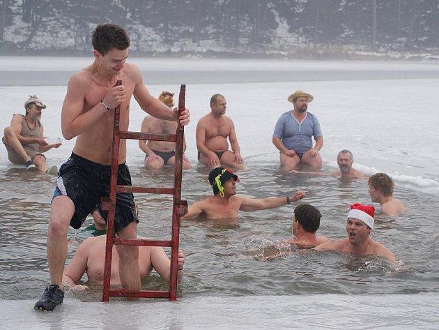 Vánoční koupel vPlumlově