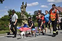 Velká sláva se odehrávala v sobotu ve Vrchoslavicích. Místní slavili výročí založení obce a 100 let sokola. 7.8. 2021
