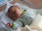 Jakub Vykydal, Prostějov, narozen 13. dubna, 51 cm, 4200 g