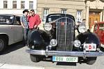 Setkání veteránistů s historickými vozidly v Prostějově