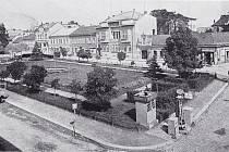Stará stanice Caroil na nynějším Vojáčkově náměstí