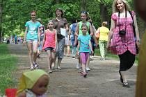 Davy dětí si našly cestu do parku v Čechách pod Kosířem. Čekala je tam hora zábavy, pohádek ale také poznávání.