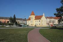 Jakubské náměstí v Kostelci na Hané