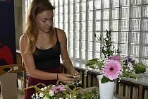 Floristická soutěž ve Společenském domě v Prostějově. 17.9. 2020