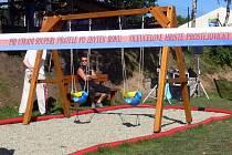Slavnostní otevření sportovního areálu v Prostějovičkách