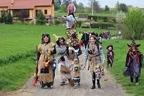 Pálení čarodějnic v Seloutkách