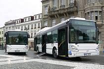 Nízkopodlažní autobusy MHD