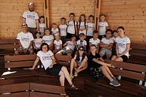 Účastníci letního doučovacího kempu Cyrilometodějského gymnázia