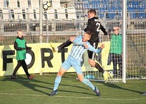 Fotbalisté Prostějova proti Třinci
