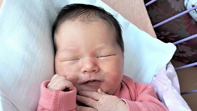 Viktorie Szarka, Hranice, narozena 16. května 2021 ve Valašském Meziříčí, míra 51 cm, váha 3440 g
