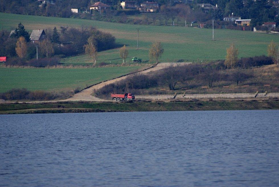 Plumlovská přehrada 1. 11. 2013