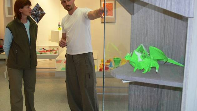 Výstava - Origami Michala Průdka