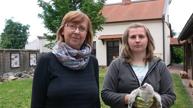 Eva Zatloukalová (vlevo) a Petra Orálková
