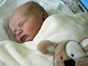 Jan Šustr, Ivaň, narozen 29. září v Prostějově, míra 51 cm, váha 3450 g