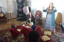 Plumlovský zámek zaplnily čarodějnice a jejich malí i velcí obdivovatelé.