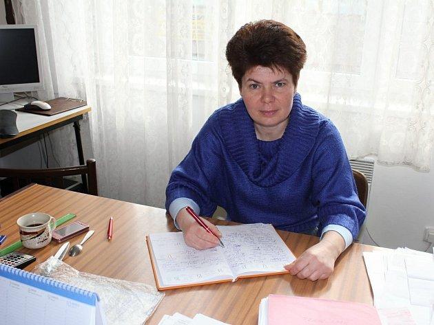 Lenka Černochova - ředitelka Oblastního spolku Českého červeného kříže v Prostějově
