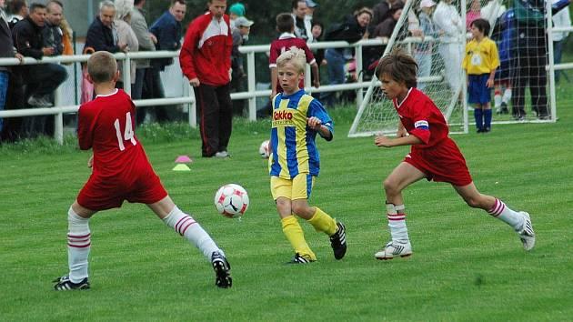 Jasnými vítězi regionálního kola 5. ročníku fotbalového turnaje pro hráče do deseti let E.ON ČR Junior Cup se ve Starém Městě stali malí fotbalisté 1. FC Slovácko.