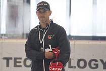 Hokejisté Prostějova poprvé před novou sezonou trénovali na ledě.Jiří Vykoukal