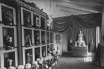 Ve dnech sokolských slavností od 24. června do 9. července 1928 se vProstějově konala výstava zahradního a hřbitovního umění.