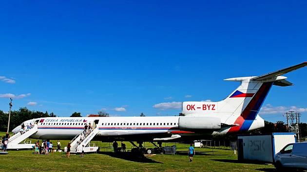 Letecké muzeum v Kunovicích mají děti ve velké oblibě.