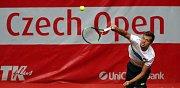 Czech Open v Prostějově: Pavlásek (8-ČR) – Ignatik (Běl.) 7:5, 1:6, 6:7
