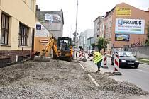 Rozkopaná Olomoucká