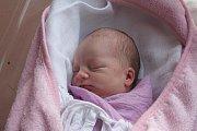 Eliška Pekárková, Prostějov, narozena 13. října v Prostějově, míra 48 cm, váha 2700 g