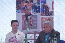 Trojnásobný halový mistr Evropy zavítal ve středu odpoledne i do Prostějova. Tam představil své další cíle, a to uspět také na mistrovství světa venku.
