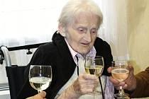 Květoslava Grmelová slaví 105 let