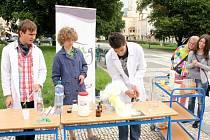 Věda v ulicích v Prostějově