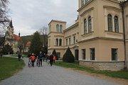 Velikonoce na zámku v Čechách pod Kosířem