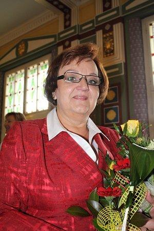 Předávání cen města Prostějova za rok 2011 - Renata Čekalová
