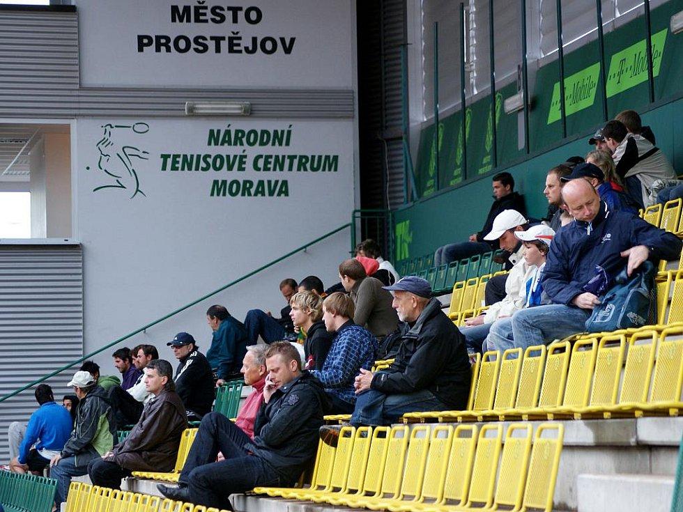 Déšť trápí Czech Open