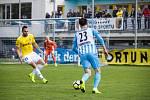 Fotbalisté Prostějova remizovali v domácím utkání F:NL s Jihlavou 1:1.Alexander Pernackyj, Lukáš Zoubele