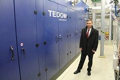 V Prostějově ČEZ představil investici za více než 100 milionů: 4 kogenerační jednotky na výrobu elektřiny a zpracování takto vzniklého tepla.