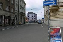 Kravařova ulice v Prostějově