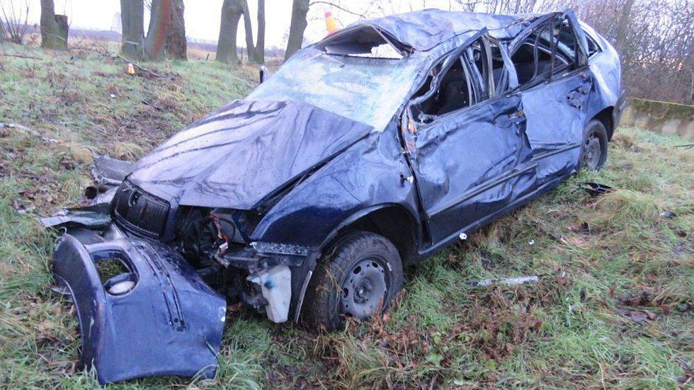 Nehoda mezi Čehovicemi a Čelčicemi