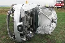 Havárie seatu u Olšan u Prostějova