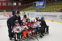 Náborové akce na prostějovském zimáku se zúčastnilo přes šedesát dětí.