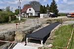 Uzavřená silnice ze Studence do Olšan - 6. května 2020