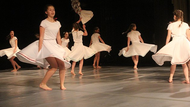 Soutěž Tanec, tanec v prostějovském divadle