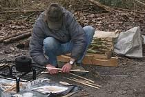 Část bezdomovců přebývá v Prostějově ve stanech kousek od Tesca