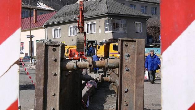 Konice má za sebou výstavbu kanalizace. Ilustrační foto