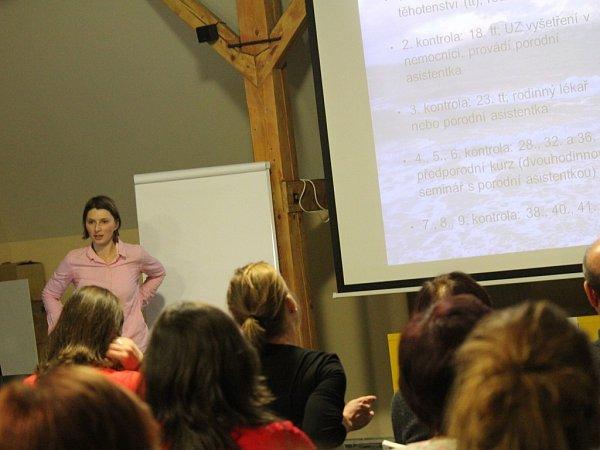 Oživotě vNorsku přednášela Renata Veselá