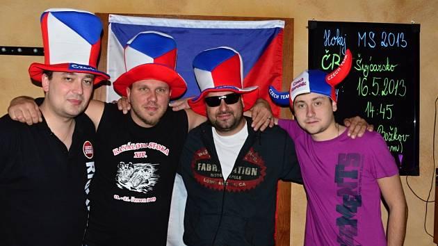 V baru La Putica v Prostějově na čtvrtfinále Česko-Švýcarsko