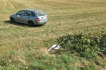 Dopravní nehoda u Otaslavic. 31.8.2020