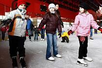 Bruslení pro veřejnost na zimním stadionu v Prostějově. Ilustrační foto