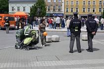 Z předvolebního mítinku ČSSD v Prostějově