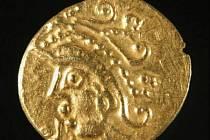 Keltská mince. Ilustrační foto