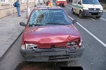 Z místa nehody